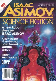 asimov magazine cover